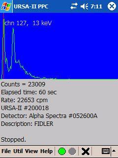 URSA-II MCA Software – Multi-Channel Spectrum Radiation Analyzer Software