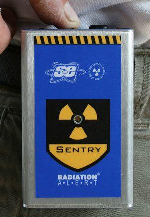 Sentry EC Dosimeter & Ratemeter