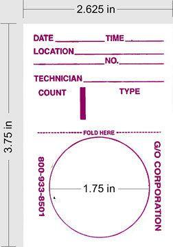 Radiation Alert® Test Swipes