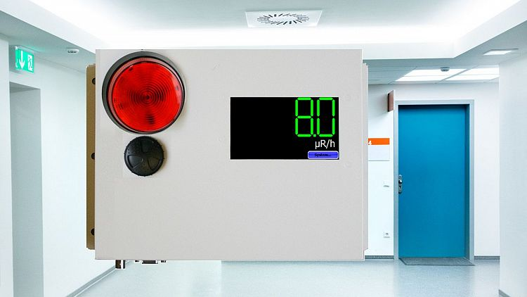 AM-2X2 Radiation Area Monitor