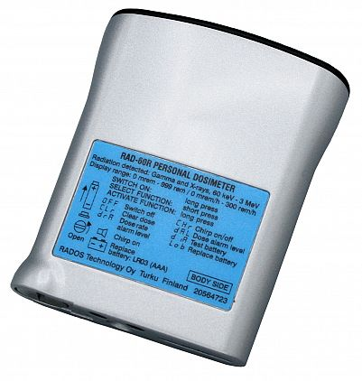 Rad-60 Alarming Dosimeter